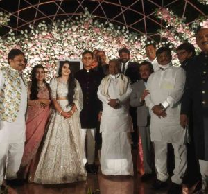 Aishwarya And Amartya Hedge Reception