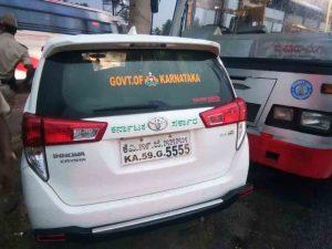 BNG SRINIVAS POOJARI CAR ACCIDENT 1