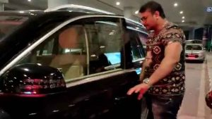 Darshan arrived to hyderabad