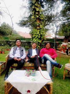 Fraud by Raghavendra Sarvam in false identity of political bigwigs