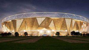 Sardaರ Patel Stadium from outside