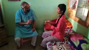 Suresh kumar Visits Student house