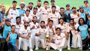 Victorious Team India in Australia