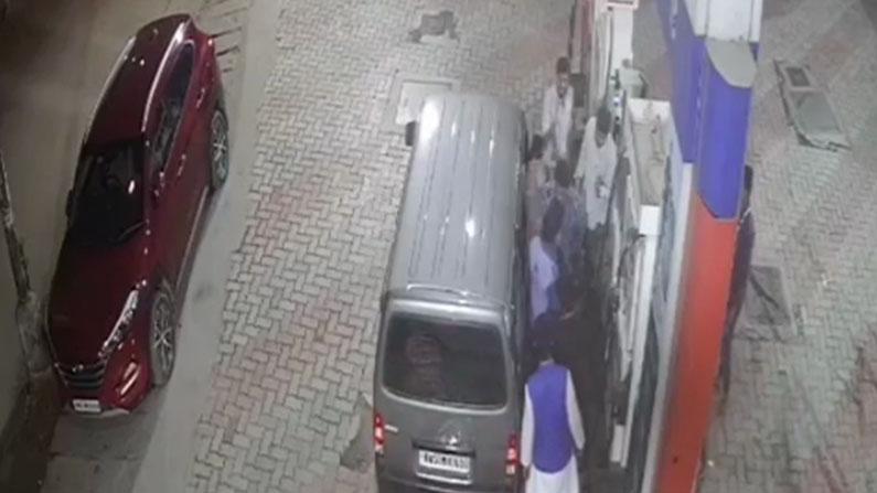 petrol bunk attack