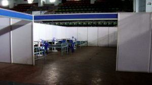 Bengaluru koramangala indoor stadium gets covid care centres for asymptomatic coronavirus patients 3
