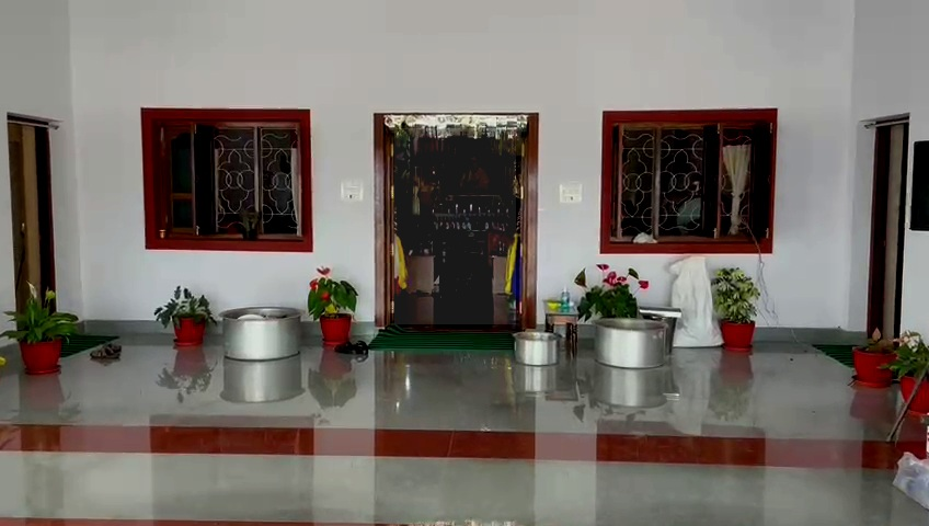 special puja to get rid of coronavirus at Buddha bhikkhu Golden Temple tibetan camp Bylakuppe Periyapatna Mysuru (4)